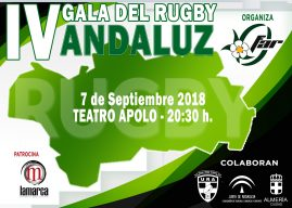 IV Gala del Rugby Andaluz – En video