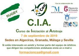 CURSO DE INICIACIÓN AL ARBITRAJE. SEPTIEMBRE 2019