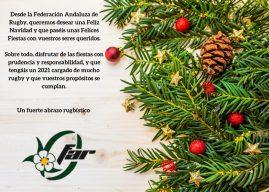 La Federación Andaluza de Rugby os desea Felices Fiestas