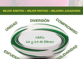 CURSO FORMACIÓN DE ÁRBITROS. CÁDIZ 23 Y 24 DE FEBRERO DE 2019